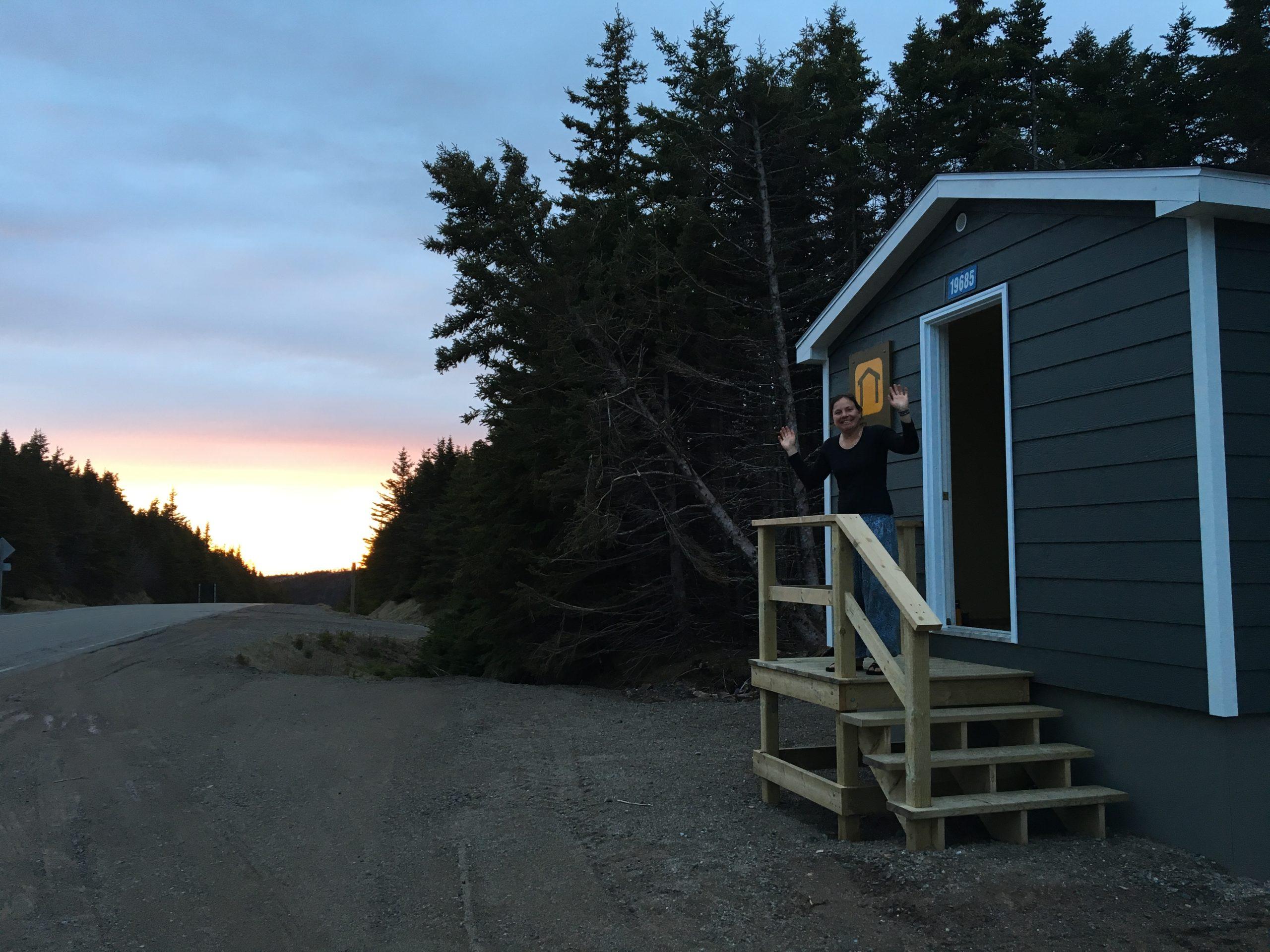 Unsere zweite Unterkunft in Nova Scotia
